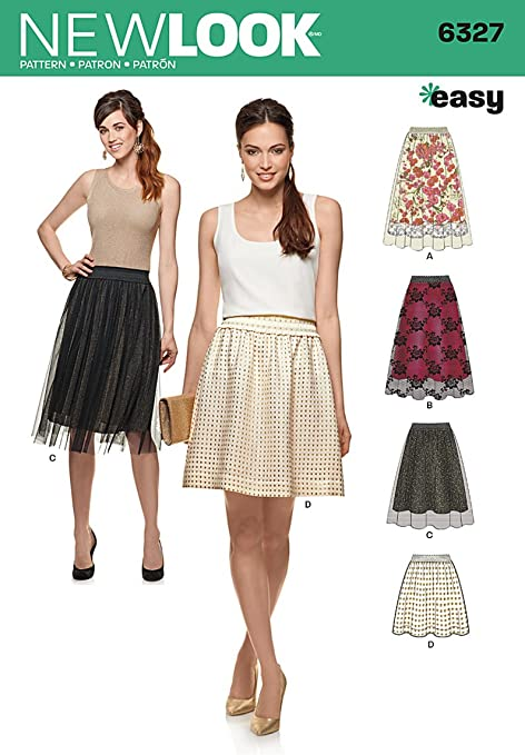 New Look Size A 8 - 10 - 12 - 14 - 16 - 18 - 20 Easy Sewing Pattern ...