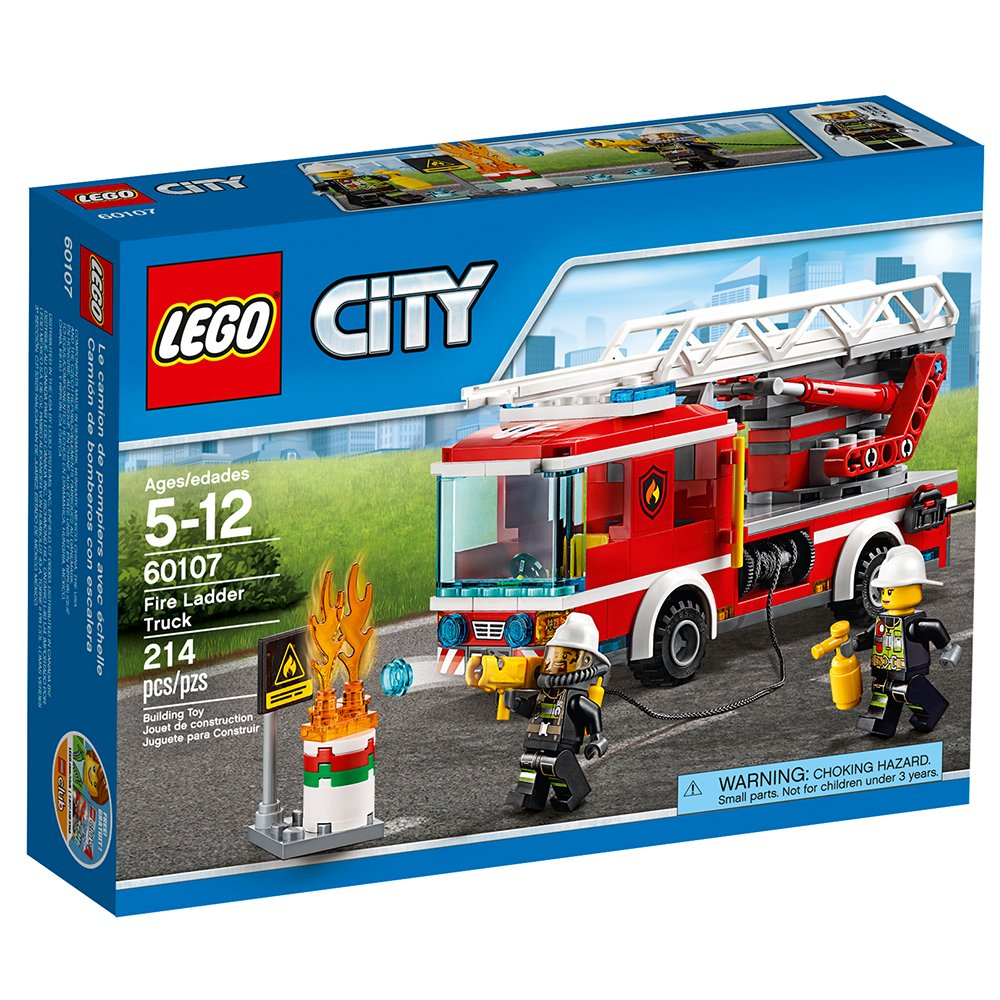 LEGO City Fire Ladder Truck 60107 by LEGO (Image #6)
