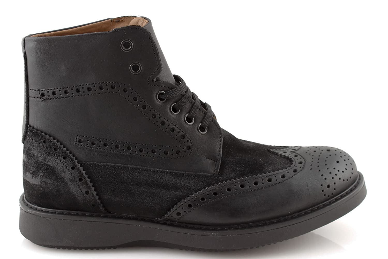 damalu Zapatos Botas Hombre Piel Bota de Invierno Botines