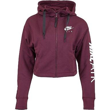 ukClothing W Nike Nsw Flc Hoodie Fz SweatshirtAmazon co Air Women's 76ygbf