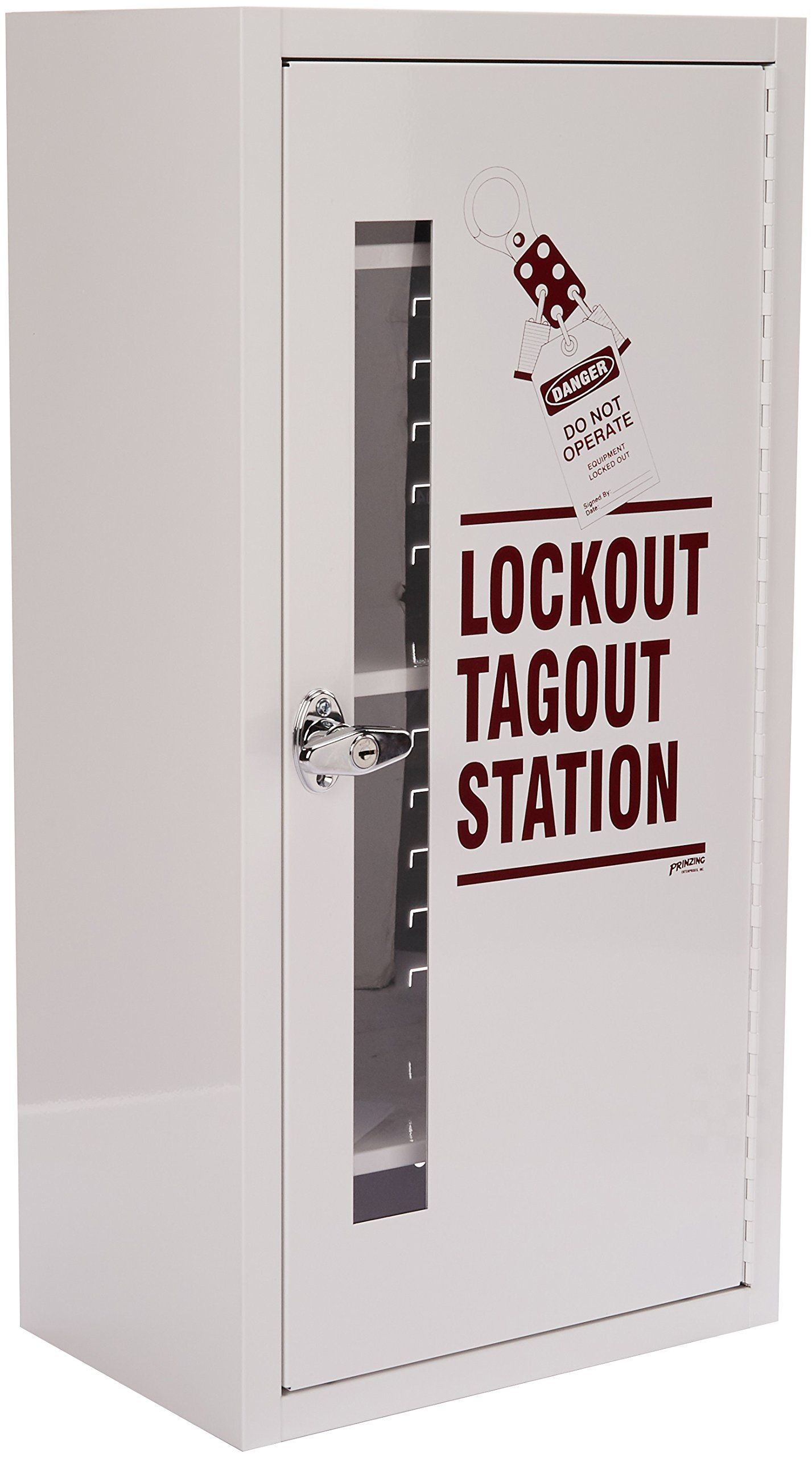 Brady  LC977A,  Lockout Tagout Station, Cabinet Only with Locking Handle by Brady