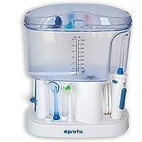 Irrigador Bucal o Dental Premium Pro-HC Water System . Limpieza e Higiene Bucal Profesional . 11 Cabezales Multifunción . 5 Niveles De Potencia 1100 Ml De Capacidad . 6 Meses de Garantía Adicional
