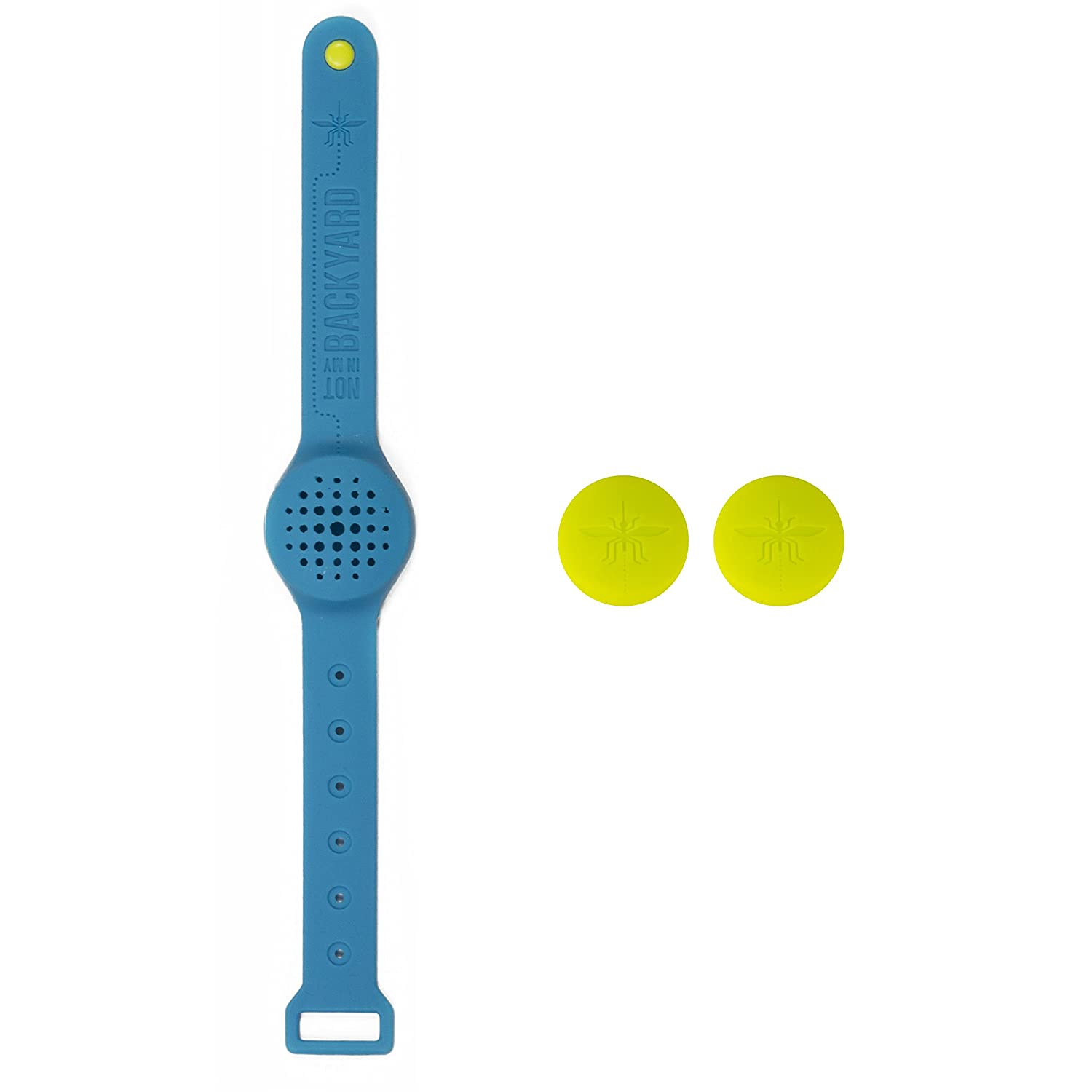 amazon com not in my backyard silicone wearable wristband all