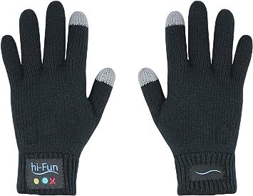 Midland Hi-Call - Guantes manos libres Bluetooth para hombre, negro