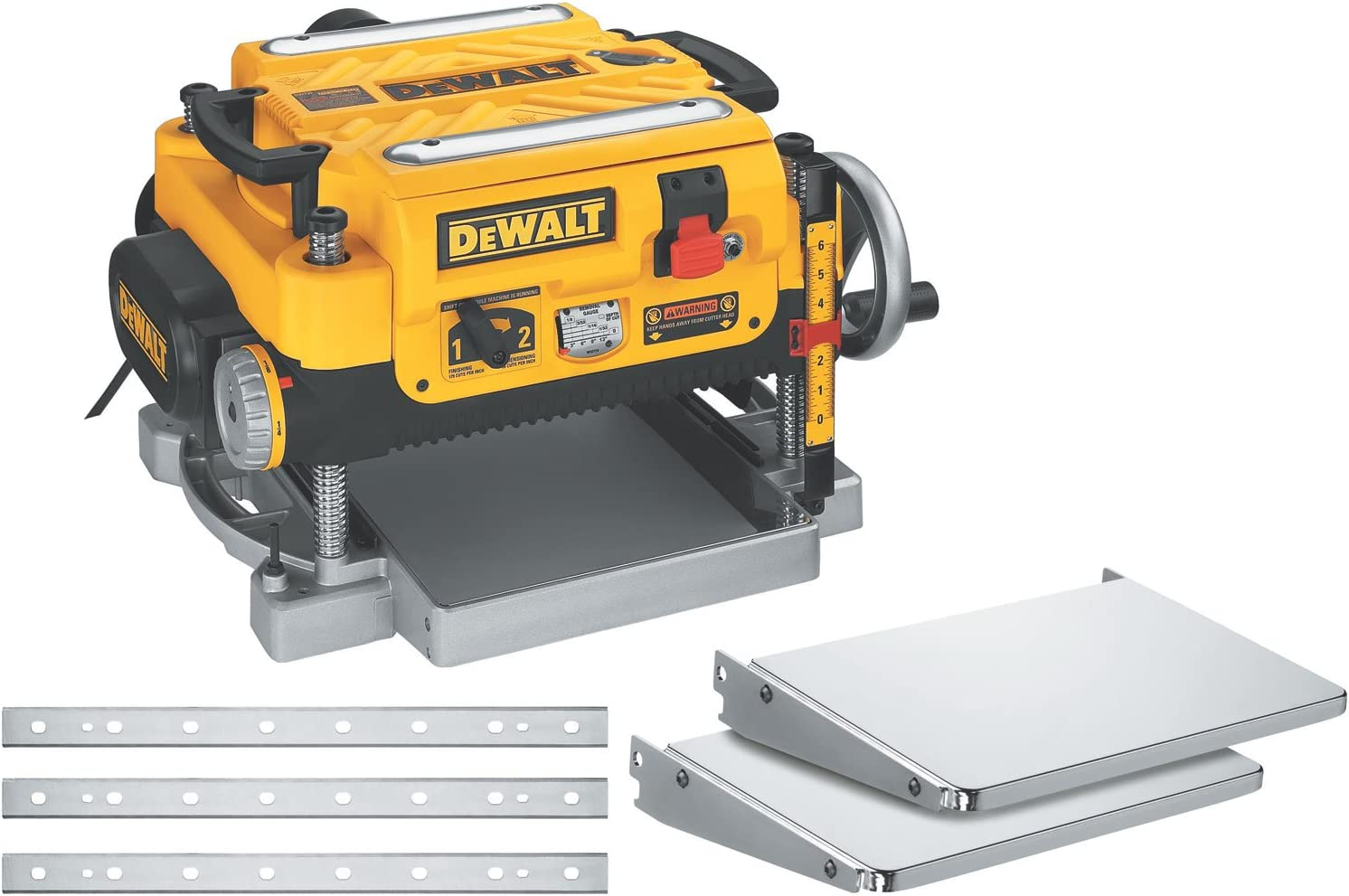 4. DeWALT DW735X Variable Speed Thickness Planer
