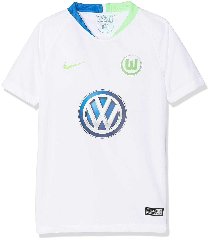 Nike Kinder VFL Wolfsburg Breathe Stadium Away T-Shirt