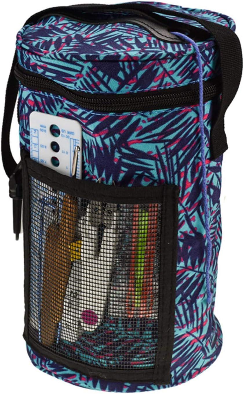 JIAN YAN NA Yarn Storage Bag Knitting Tote Bag Crocheting Supplies Organizer Tangle Free Set of 3 Crocheting Bags