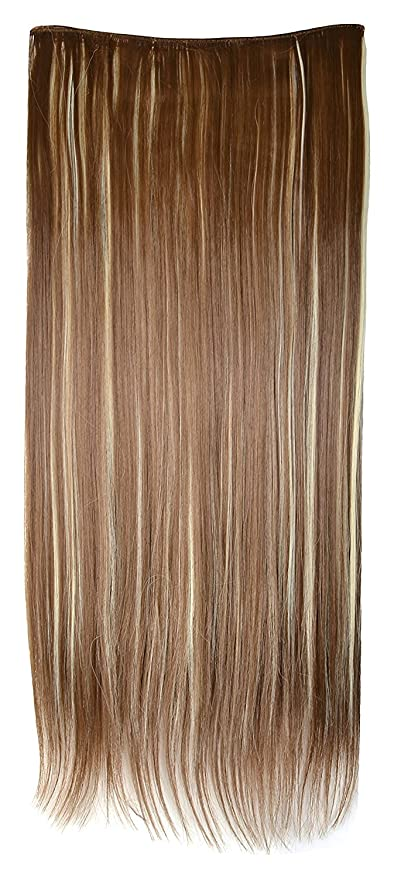 Snupy5pin Straight Hair Extensiongolden Brown Free Funky Golden