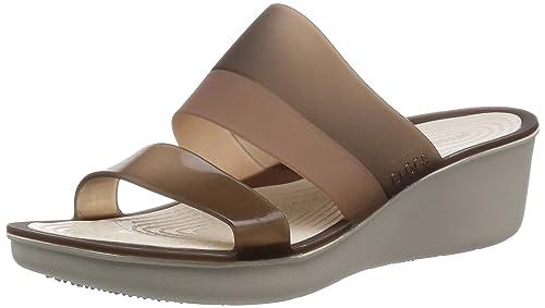 adb85b63dc6 Crocs Women s Court Shoes Brown Size  4 UK  Amazon.co.uk  Shoes   Bags