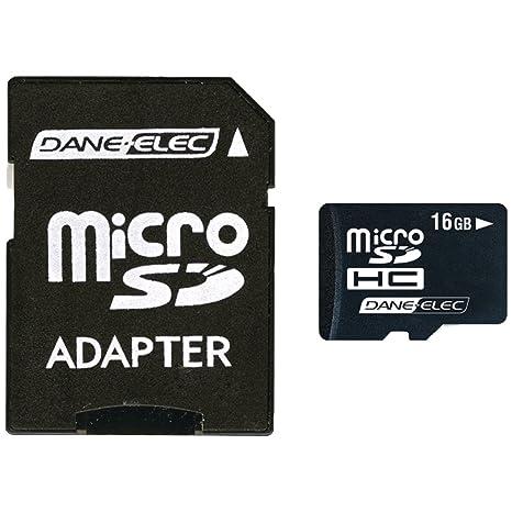 Amazon.com: Dane-Elec 16 GB MicroSDHC Tarjeta de memoria ...
