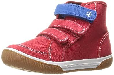 Stride Rite Ellis Sneaker (Toddler), Red, 4 M US Toddler