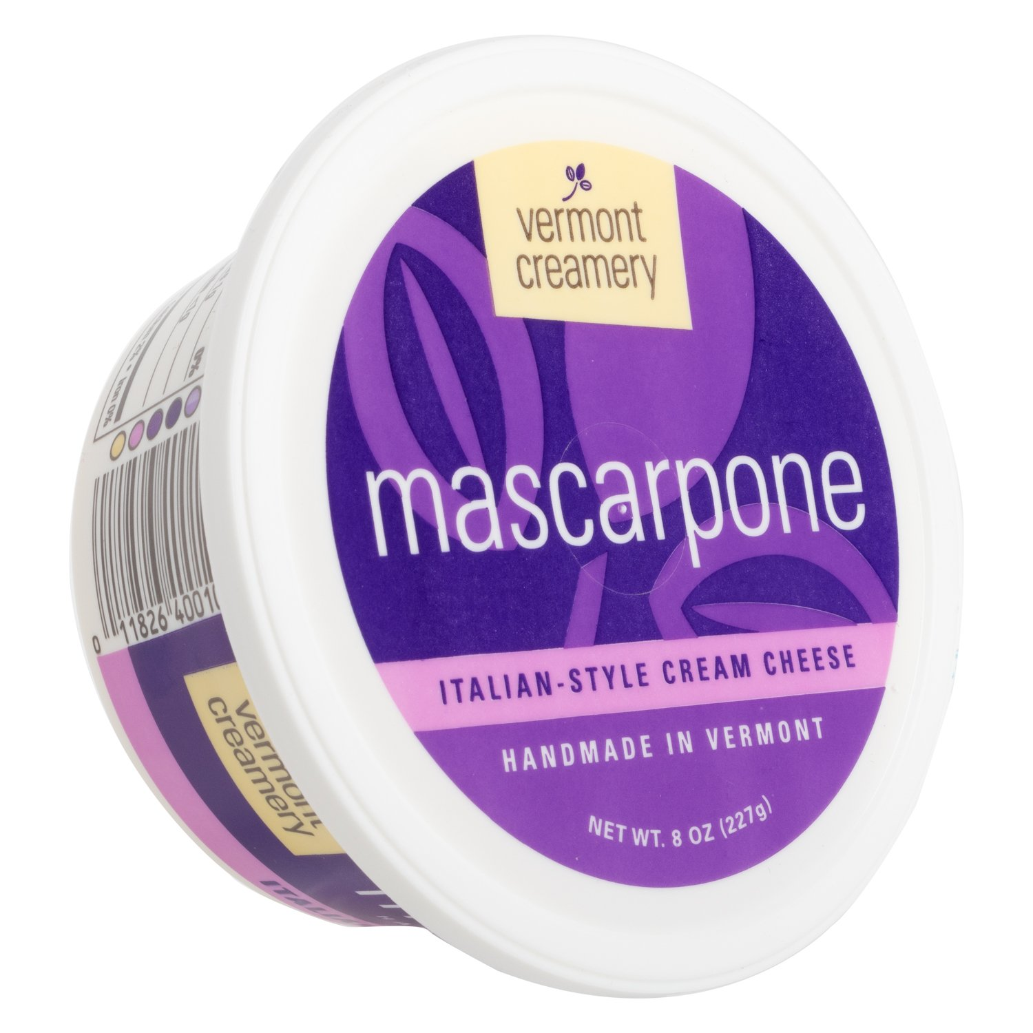 Vermont Creamery, Mascarpone Italian Style Cream Cheese, 8 oz: Amazon.com: Grocery & Gourmet Food