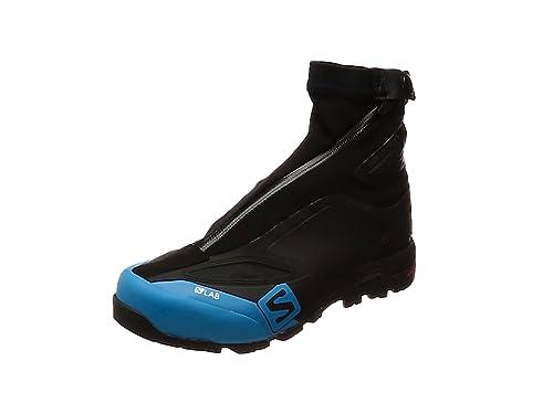 Salomon Unisex-Erwachsene S/Lab X Alp Carbon 2 GTX Stiefeletten, Schwarz (Black/Black/Transcend Blue 000), 44 2/3 EU