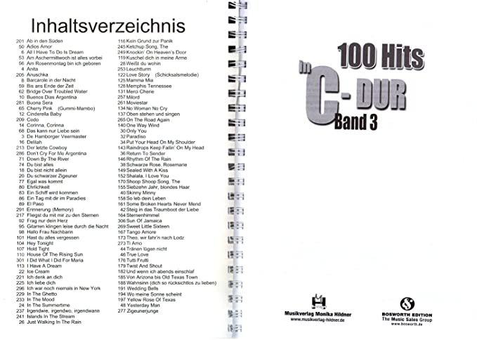 100 Hits en C de DuraSec banda 3 – Los mejores Evergreens ...