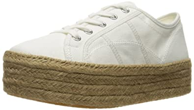 62551b75c5b Steve Madden Women s Hampton Fashion Sneaker White 8 M US