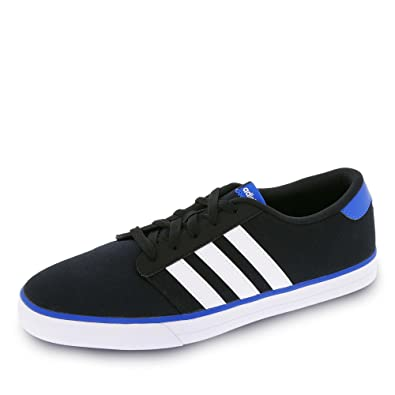 adidas - VS Skate - AQ1484 - Color: White-Black-Blue - Size