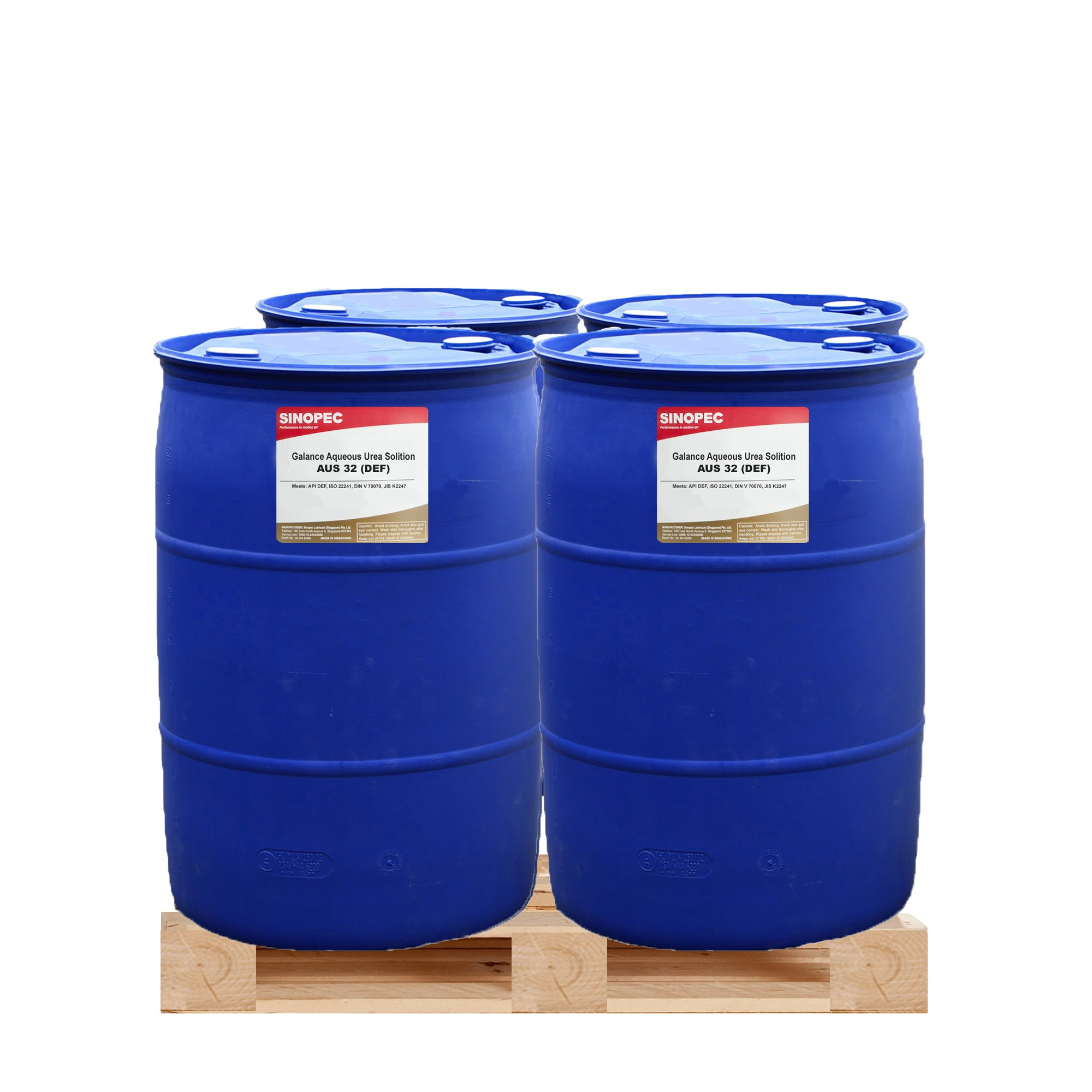 $175 Each - DEF Diesel Exhaust Fluid - (4) 55 Gallon Drum