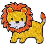 ecusson thermocollant patch thermocollant applique pour vêtement enfant bebe Cartoon lion 6 cm