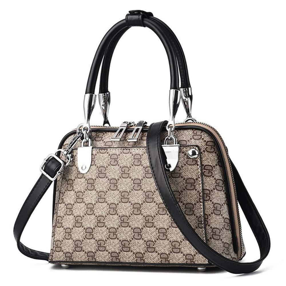 black Messenger Tote Bag Purtou Womens Fashion PU Leather Handbags Ladies Designer Satchel Valentines Gift Large Tote Bag
