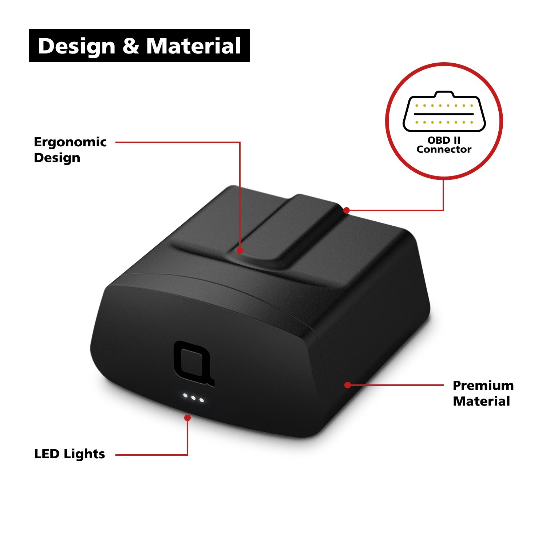 praktische Bluetooth-/Überwachung in Echtzeit KFZ-Kontrollsystem f/ür den Motor Reifendruck//-Temperatur Batterie f/ür Android /& iOS Nonda Smart-Vehicle Health Monitor Gesch/äftsreisen-Verzeichnis