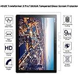 ASUS Transformer 3Pro T303ua protection d'écran en verre trempé–Fiimi protection d'écran pour Asus Transformer 3Pro T303ua, dureté 9H, épaisseur de 0,3mm, fabriqué à partir de verre véritable