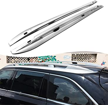 Roof Rack Roof Rail for Toyota Highlander 2014 2015 2016 2017 2018 2019 Silver