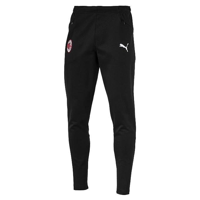 PUMA AC Milan Casual Performance Sweat Zipped Pockets Pantalones ...
