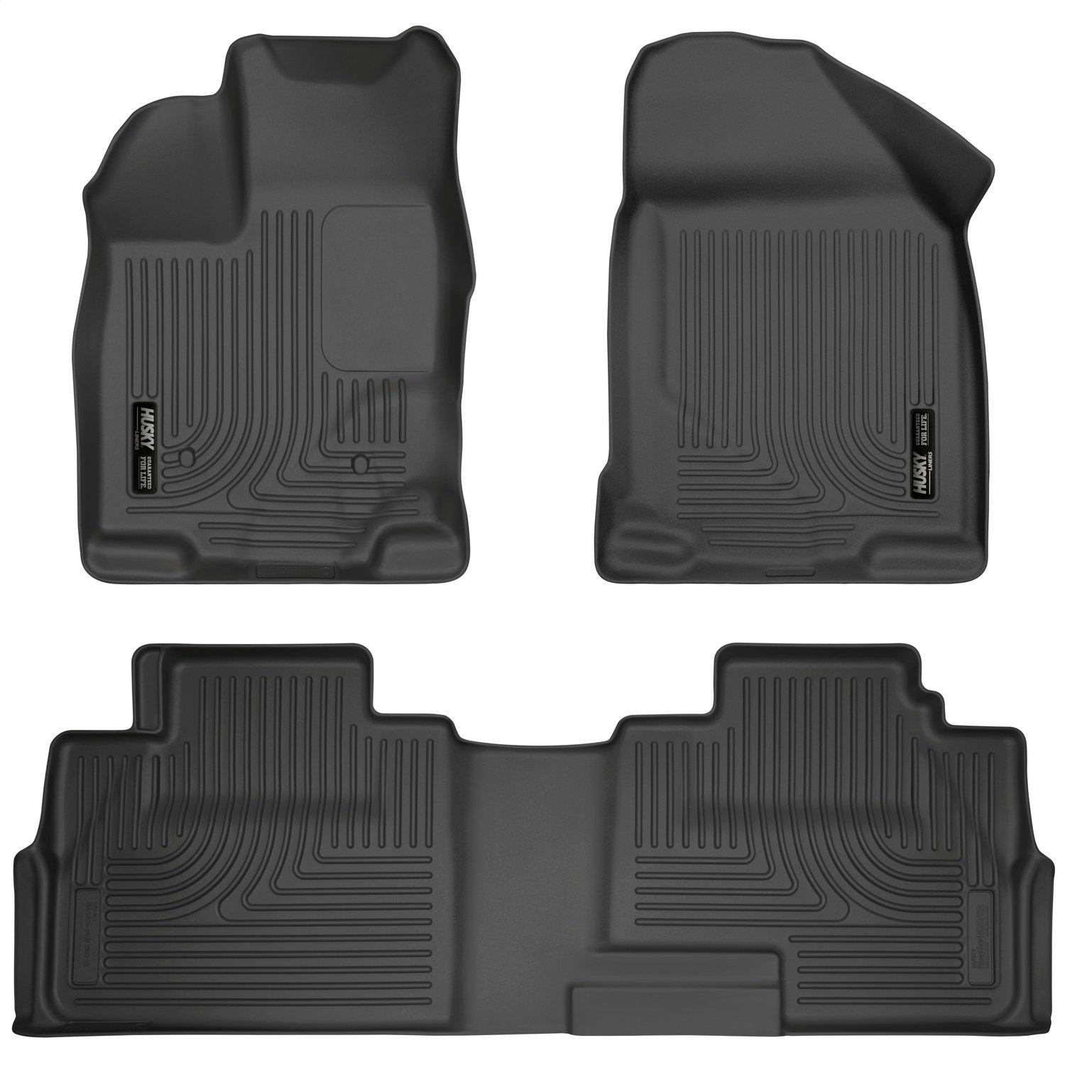 07-15 MKX 99761 Husky Liners Front /& 2nd Seat Floor Liners Fits 07-14 Edge