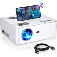Amazon Price History for:WiFi Mini Projector 5500Lux HD, Built-in 5W Speaker, 2X Louder, New WiMiUS S2 Home & Outdoor Movie Projector Support…