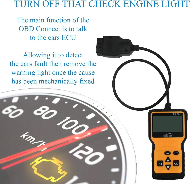 Engine Fault Code Reader. OBD Connect OBDII OBD 2 Professional Car Diagnostic Scanner