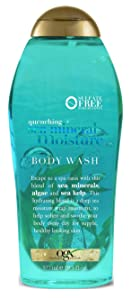 Ogx Body Wash Sea Mineral Moisture 19.5 Ounce (577ml) (2 Pack)