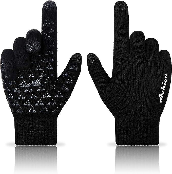 Achiou Winter Warm Touchscreen Gloves