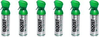 product image for Boost Oxygen Supplemental Oxygen to Go   All-Natural Respiratory Support for Health, Wellness, Performance, Recovery and Altitude (5 Liter Canister, 6 Pack, Natural)
