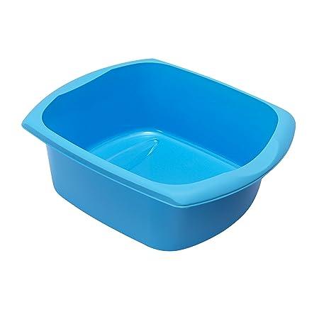99f8c18babf7 Addis Rectangular Washing Up Bowl, Bright Blue, Large: Amazon.co.uk ...