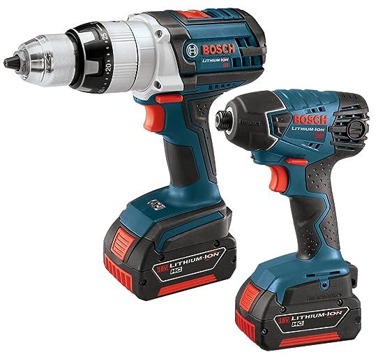 bosch power tools kit. bosch clpk221-18 18-volt lithium-ion two tool kit power tools