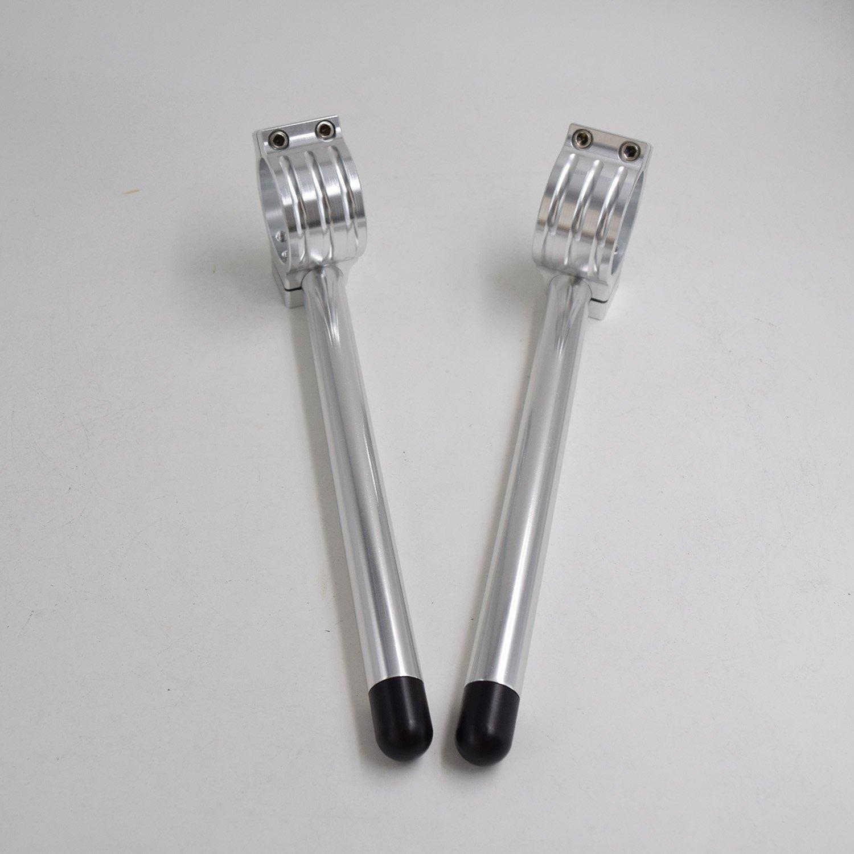 CNC Aluminium Motorr/äder stummellenker 31mm Passend f/ür CBR125R CBR150R Winkeleinstellung angehoben Universal Gebelstandrohr /Ø 31MM stummellenker cafe racer 22MM Griffrohr Farbe schwarz
