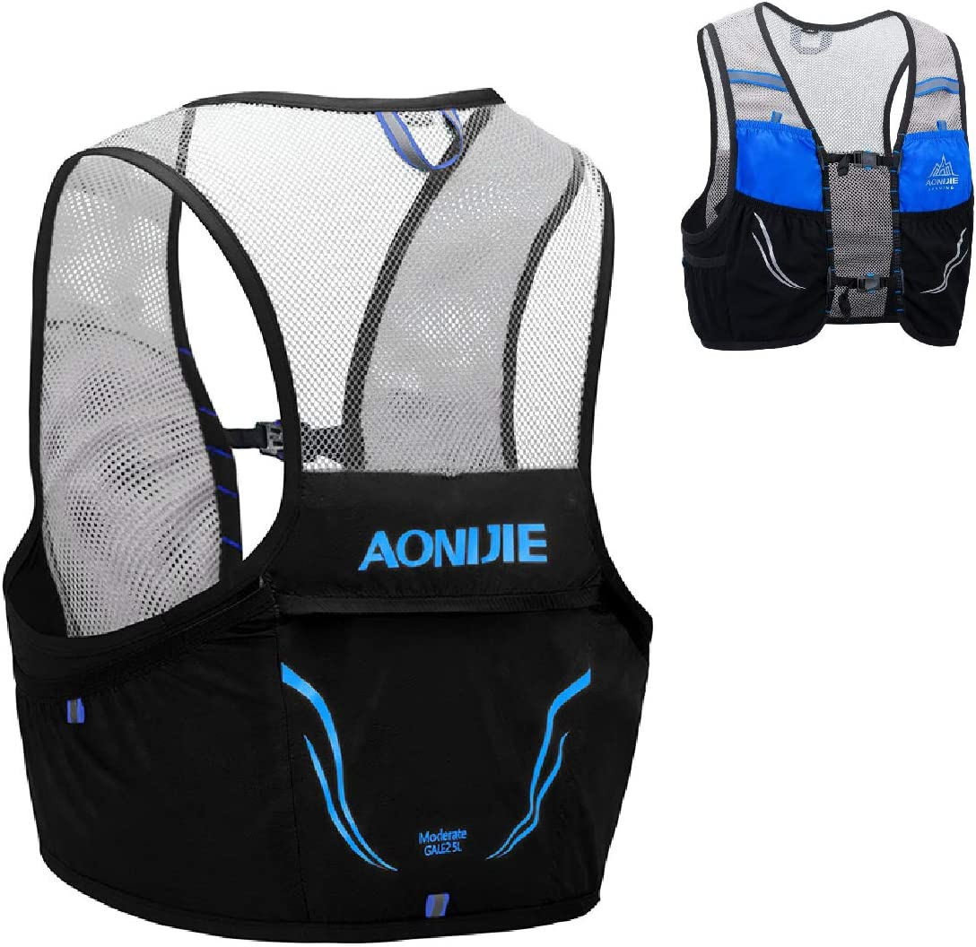 Azarxis 2.5L Hydration Race Vest Pack Lightweight Trail Running Backpack fits for Women /& Men for Marathon Jogging Hiking Climbing Outdoor Sports