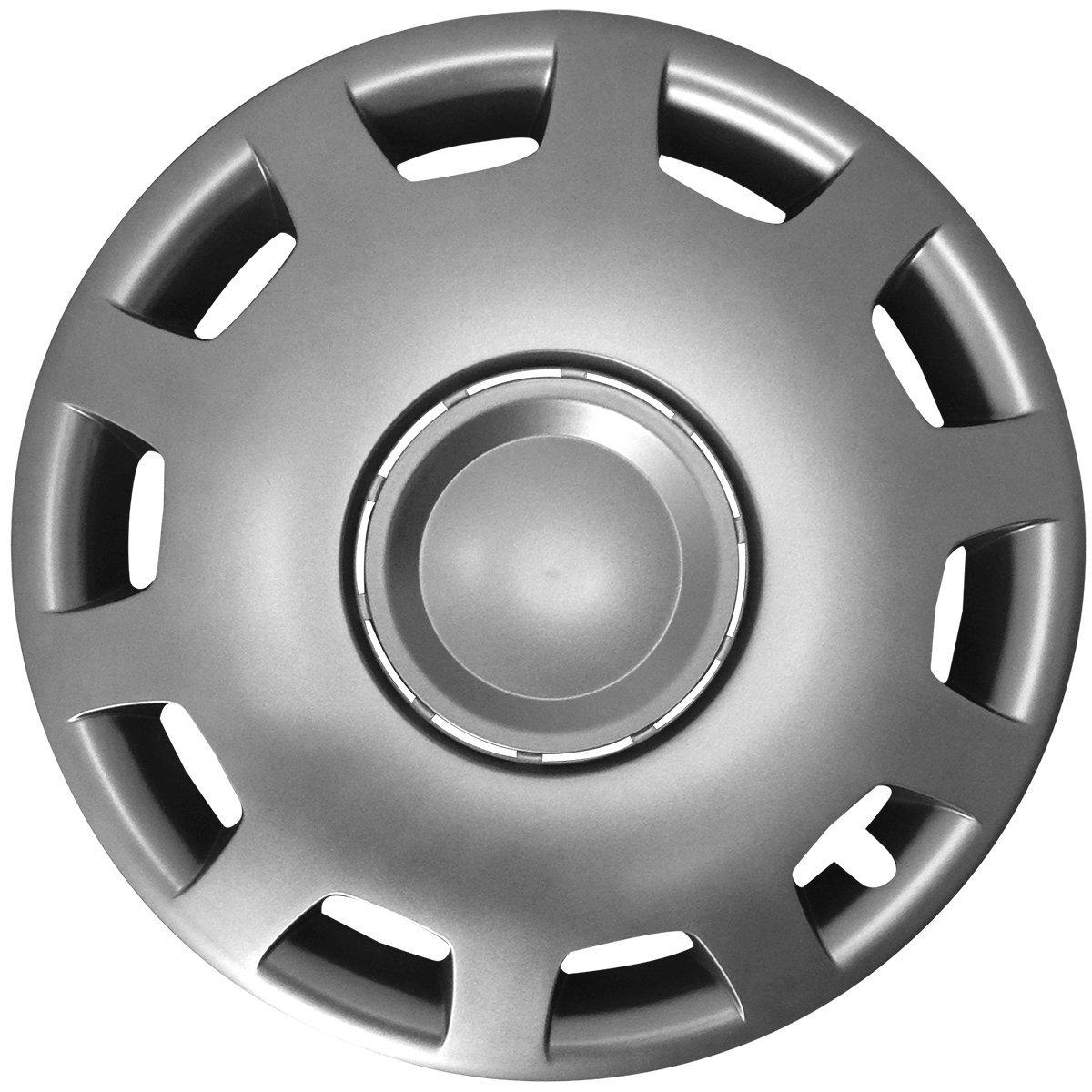 Farbe /& Gr/ö/ße w/ählbar 16 Zoll Radkappen Granit Schwarz passend f/ür Fast alle g/ängingen Fahrzeuge Eight Tec Handelsagentur universal