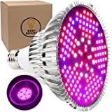100W LED Grow Light Bulb - Full Spectrum Lamp for Indoor Plants, Garden, Flowers, Vegetables, Greenhouse & Hydroponic Growing | E27 Base with 150 LED's (AC85-265V) by Easy Bright