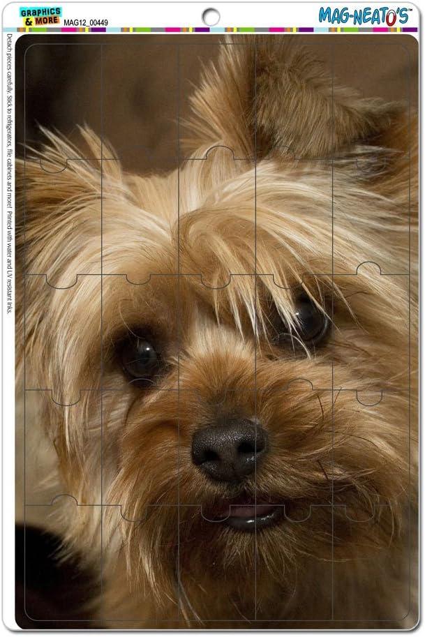 Yorkshire Terrier Yorkie Dog Novelty Gift Locker Refrigerator Vinyl Puzzle Magnet Set