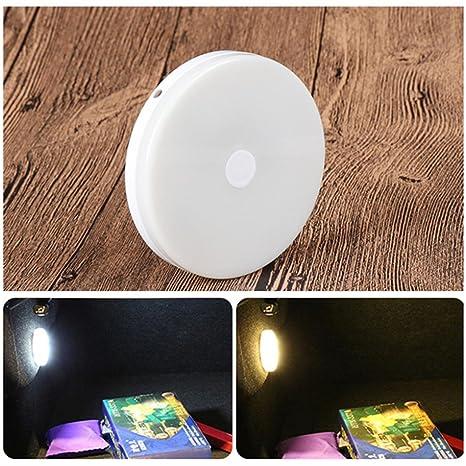Coche El maletero LED Iluminación Calentar / Blanco, SUV Noche Lámpara Cobrable Inalámbrico Pegar Auto
