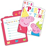 Invitation Fête Anniversaire Peppa Pig x 6 Neuf