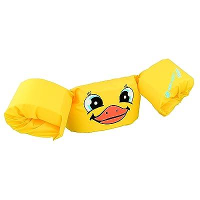 Sevylor Puddle Jumper, Manguitos bebé para Aprender a Nadar, para niños de 2 a 5 años, de 15 a 30 kg de Peso, Amarillo: Deportes y aire libre