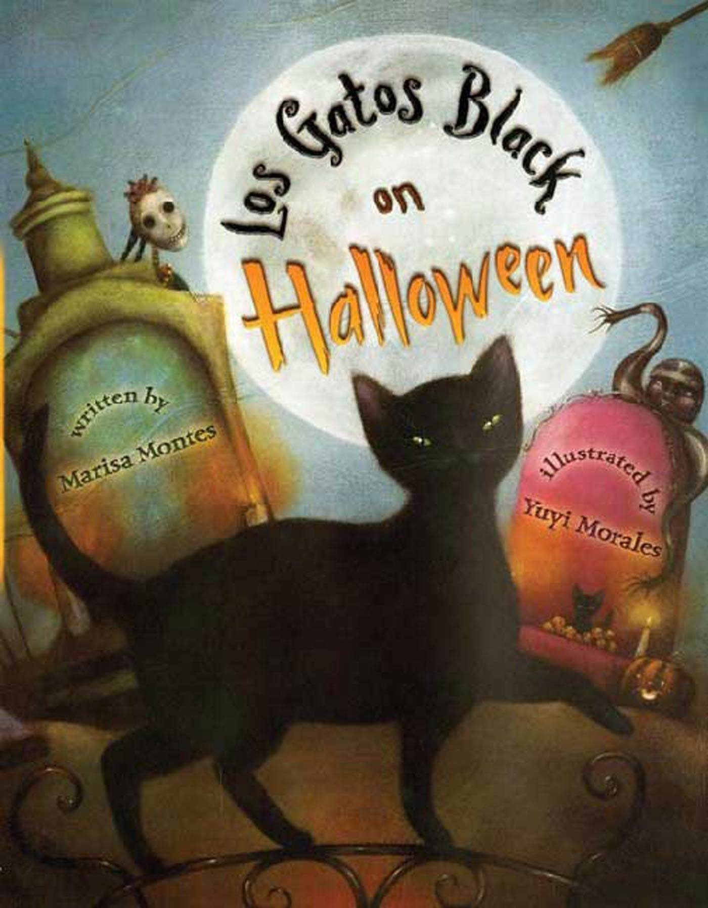 Los Gatos Black On Halloween: Marisa Montes, Yuyi Morales: 9781250079459:  Amazon: Books