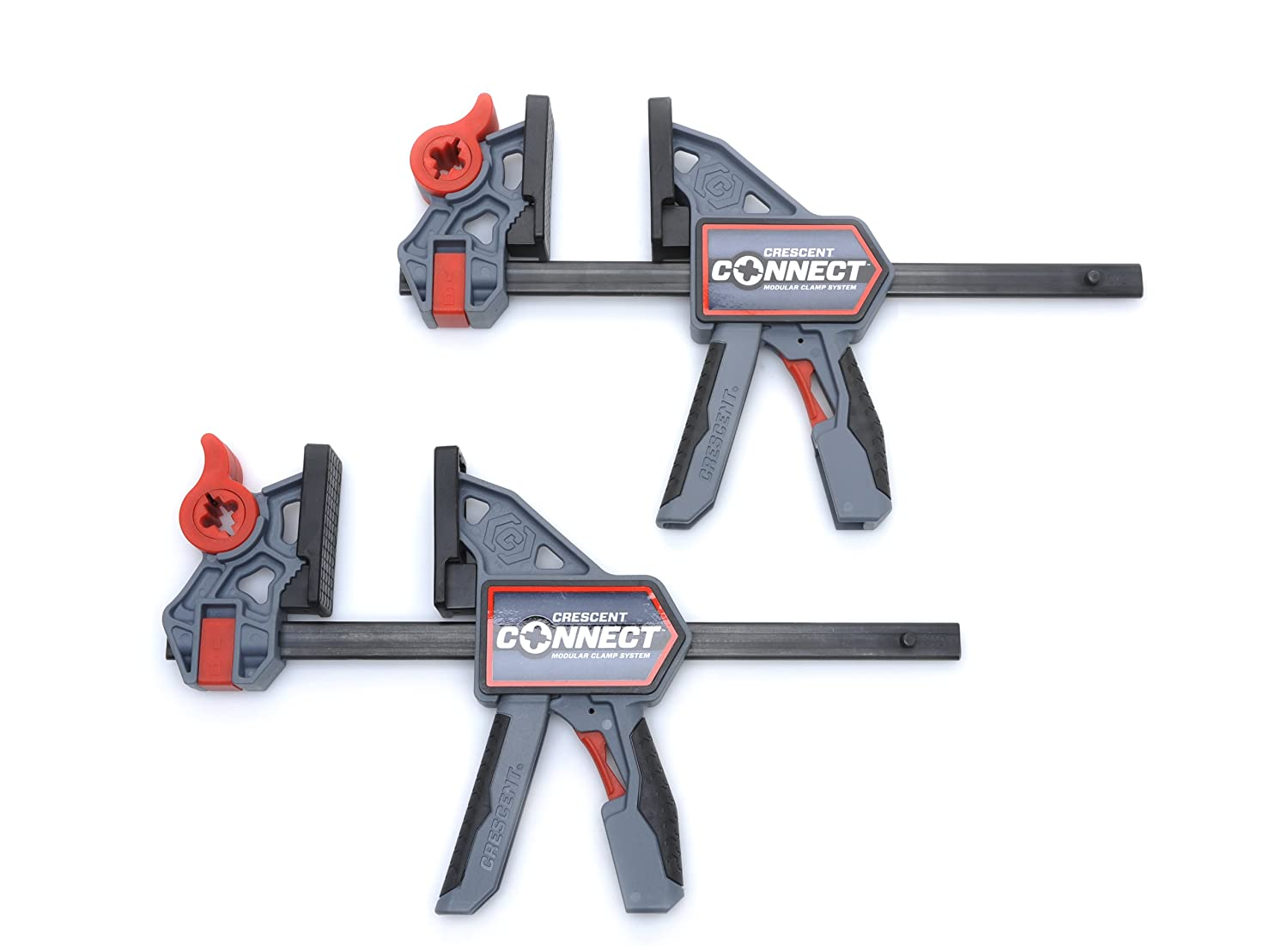 Crescent CC12PVAD 12-Inch Connect Hand Clamp, Set of 2