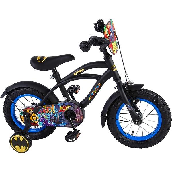 Batman Bicicleta Infantil Niño Chico 12 Pulgadas Freno Delantero ...
