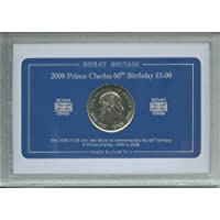 2008 60th Birthday of Prince Charles 1948 to 2008 Commemorative £5 Coin Collector Gift Set