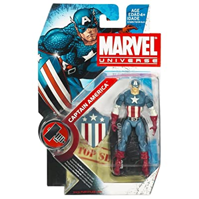 Hasbro Marvel Comics Universe Captain America Action Figure #8: Toys & Games