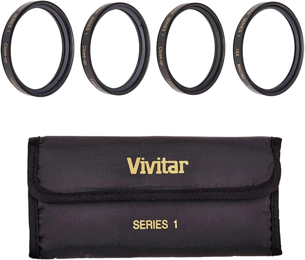 Vivitar VIV-CL-95 95mm Close Up Diopter Filters Kit (Black)