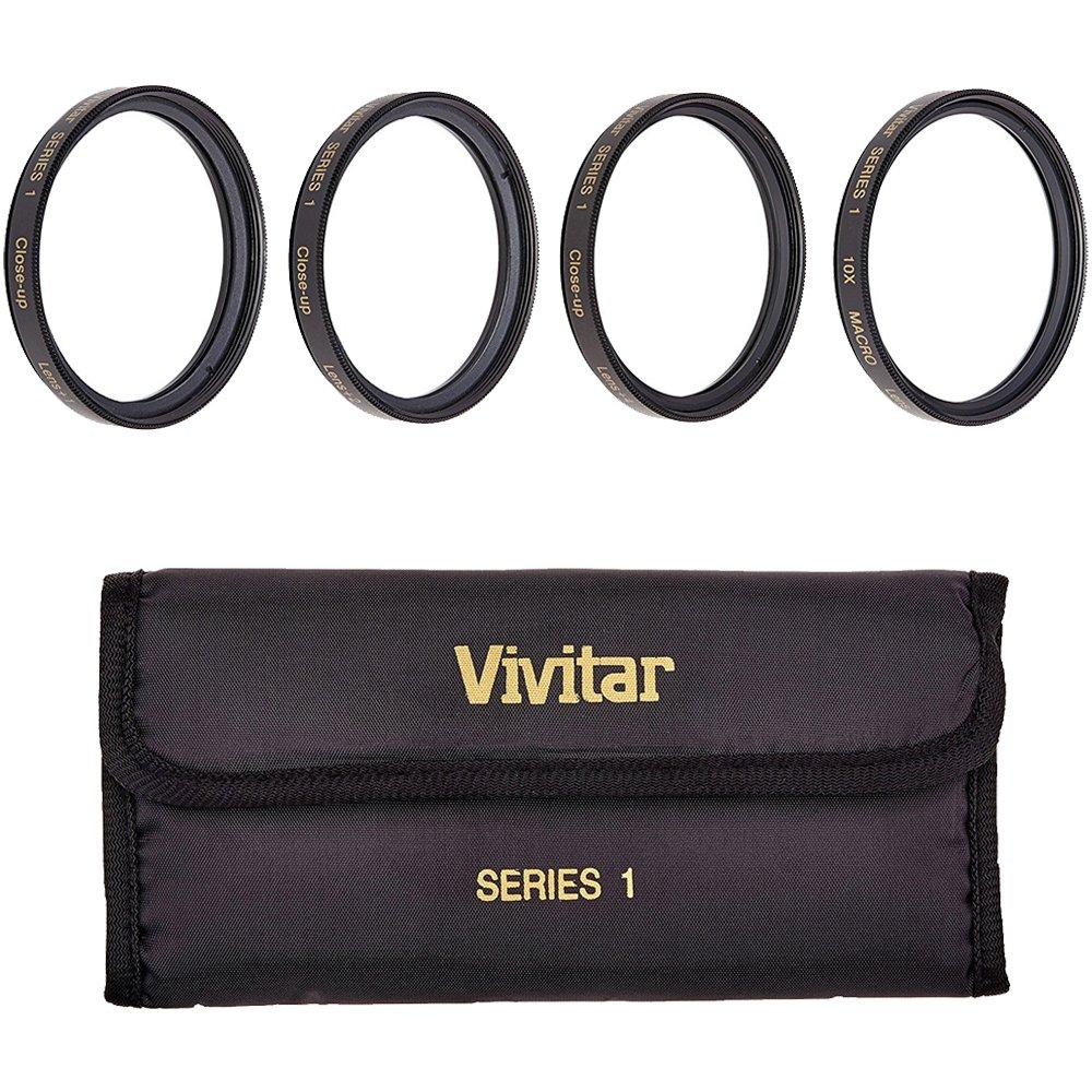 Vivitar VIV-CL-95 95mm Close Up Diopter Filters Kit (Black) by Vivitar